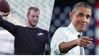 President Obama Says He Is In Philly To Scout Carson Wentz Ahead Of The Eagles-Bears Game