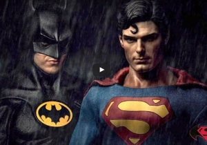 Let's Get Nuts With A 'Batman V Superman' Trailer Starring Michael Keaton And Christopher Reeve