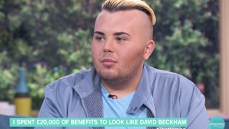 This Guy Paid $26,000 For Cosmetic Surgery To Look Like David Beckham And It Was Clearly Money Well Spent