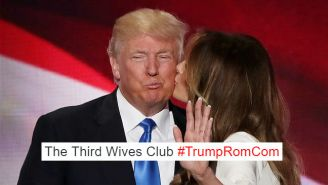 Twitter Conjured Up Horrific Renditions Of Donald Trump Romance With #TrumpRomCom