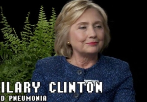 Zach Galifianakis Asks Hillary Clinton The Tough Questions On 'Between Two Ferns'