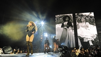 Beyonce Helped Make A Proposal Happen On Her Formation World Tour