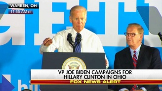 Joe Biden: Trump Was 'Born With A Silver Spoon In His Mouth That He's Now Choking On'