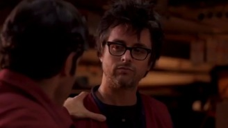 Billie Joe Armstrong plays a man who wishes he was Billie Joe Armstrong in 'Ordinary World'