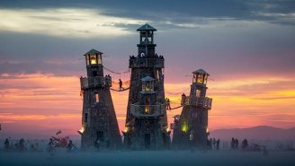 The First Burning Man Photos Reveal The Calm Before The (Dust) Storm