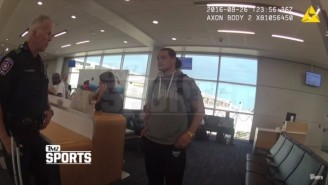 Footage Has Surfaced Of Bo Dallas' Airport Arrest For Public Intoxication
