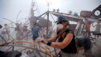 A Burning Man 'Luxury Camp' Was Raided And Vandalized By 'Hooligans'