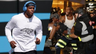 Cam Newton Spoke Candidly About The 'State Of Oppression' During The Charlotte Protest