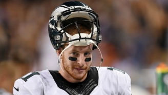 Carson Wentz Will Take You On The Worst Date Of Your Life If You Let Him