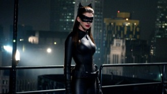Anne Hathaway Is Game To Play Catwoman Again If That's Ever On The Table