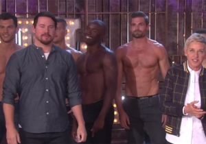 Channing Tatum Debuted His 'Magic Mike Live' Dancers To A Screaming 'Ellen' Audience