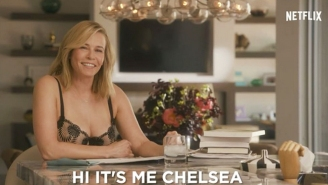 Chelsea Handler Filmed An Important PSA Highlighting The Benefits Of Being 'Childless And Alone'