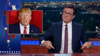 Stephen Colbert Gives A Friendly Reminder About An Offer He Made Trump On 'The Colbert Report'
