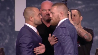 Conor McGregor Promises To Knock Out Eddie Alvarez In The First Round At UFC 205