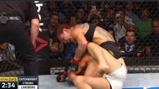 The Unstoppable Cris Cyborg Utterly Destroys Her Latest Opponent At UFC Fight Night 95