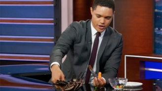 Trevor Noah Uses A Skittles Analogy Of His Own To Highlight Trump's Shady Charity Practices