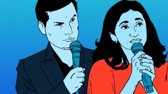 Michael Ian Black And Aparna Nancherla Want To 'Make Debate Great Again'