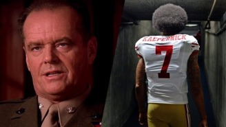 The Latest Colin Kaepernick Bad Take Compares His Protest To 'A Few Good Men'