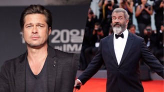 Brad Pitt Compares Mel Gibson To L. Ron Hubbard While Calling 'Passion Of The Christ' Propaganda