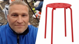 A Norwegian Man Had The Best Reaction To Getting His Testicle Stuck In An IKEA Stool