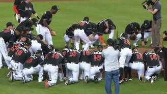 The Marlins' Touching Pregame Tribute To José Fernández Will Break Your Heart