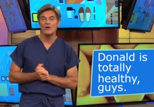Dr. Oz's 'Pointed Questions' To Donald Trump Won't Include Anything He Doesn't Want To Answer