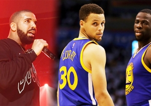 Drake Outdoes Himself By Bringing Steph Curry And Draymond Green On Stage At Oracle