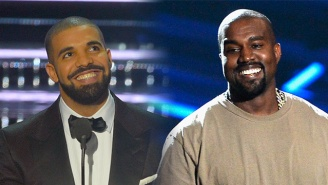 Here's Why Kanye West Has A Credit On Drake's Kid Cudi/Pusha T Diss Track