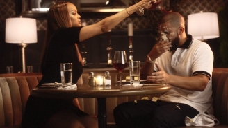 Drake And Tyra Banks Fight At Cheesecake Factory In The 'Child's Play' Video