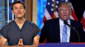 Donald Trump Is Popping By 'Dr. Oz' Next Week To 'Share His Vision For America's Health'