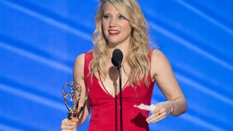 Kate McKinnon's Emmy win marks a first for 'Saturday Night Live'