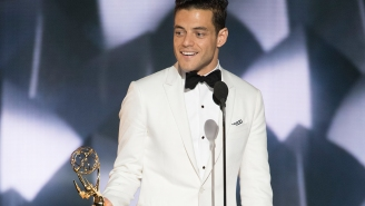 'Mr. Robot' star Rami Malek wins Emmy, gives shoutout to 'the Elliots' out there