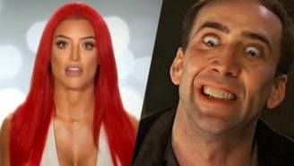 Eva Marie Will Be In A Movie With Nicolas Cage And For This We Are Truly Blessed
