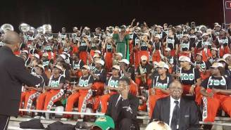 Watch Florida A&M's Marching Band Turn 'Father Stretch My Hands Pt. 1' Into A Glorious Victory Anthem