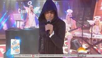People Are Losing Their Minds Over Corey Feldman's 'Performance' On The 'Today' Show