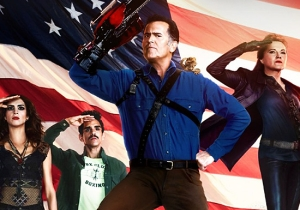 'Ash Vs. Evil Dead' Gives America The Rude, Crude Presidential Campaign It Needs