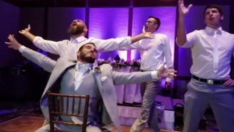 Johnny Gargano And His Groomsmen Performed An Amazing Lip-Sync Medley At His Wedding