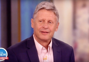 Gary Johnson Admits There's 'No Excuse' For His Aleppo Gaffe While Being Grilled On 'The View'