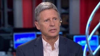 Gary Johnson Draws A Complete Blank When Asked About Something Any Presidential Candidate Should Know