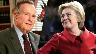 George H. W. Bush Will Reportedly Vote For Hillary Clinton