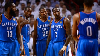 Kendrick Perkins Is Upset Russell Westbrook And Kevin Durant Aren't Talking