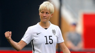 Megan Rapinoe Plans On Kneeling For The National Anthem During USWNT Matches