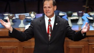 Alabama Supreme Court Justice Roy Moore Has Been Suspended Over His Defiance On Gay Marriage