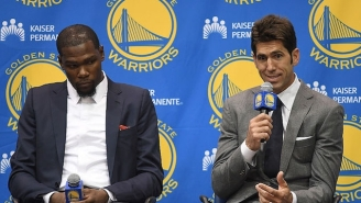 The Warriors' GM Is Right, The Kevin Durant Signing Will Lead To Some 'Turbulence'