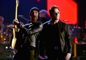 U2 And Bono Turn The Tables On Trump During Their Performance At The iHeartRadio Festival