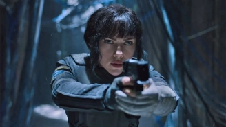 Scarlett Johansson Is Deep In Futuristic Action In The First Teasers For 'Ghost In The Shell'