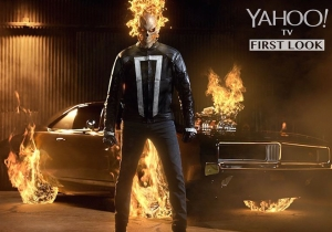 Hot Hot Hot: 'S.H.I.E.L.D.' releases picture of Ghost Rider