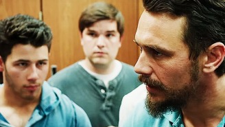 Get super aggro with James Franco in the 'Goat' trailer