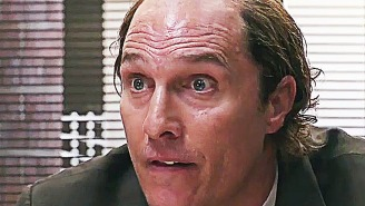 Matthew McConaughey's receding hairline makes an epic return in 'Gold'