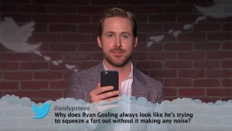 Ryan Gosling, Margot Robbie, And More Celebrities Read Mean Tweets About Themselves On 'Kimmel'